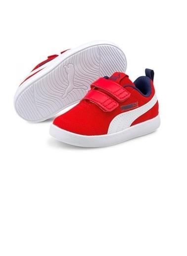 Puma Puma Courtflex V2 Mesh V Inf Bebek Ayakkabı 37175906 37175906003 Kırmızı